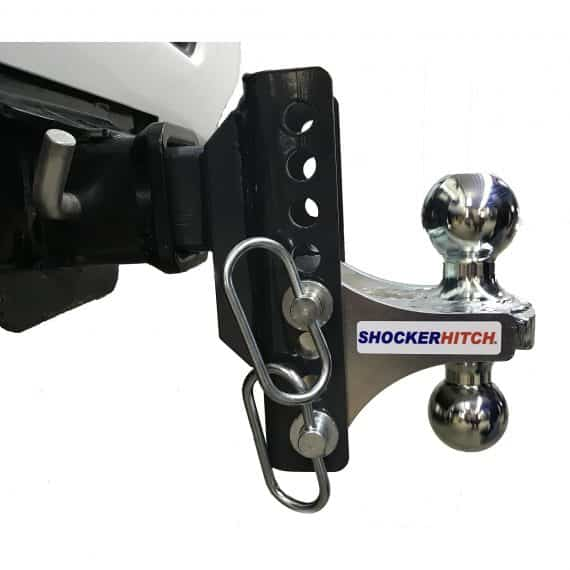 """Shocker XR Adjustable Combo Ball Mount with 2"""" & 2-5/16"""" Hitch Balls"""