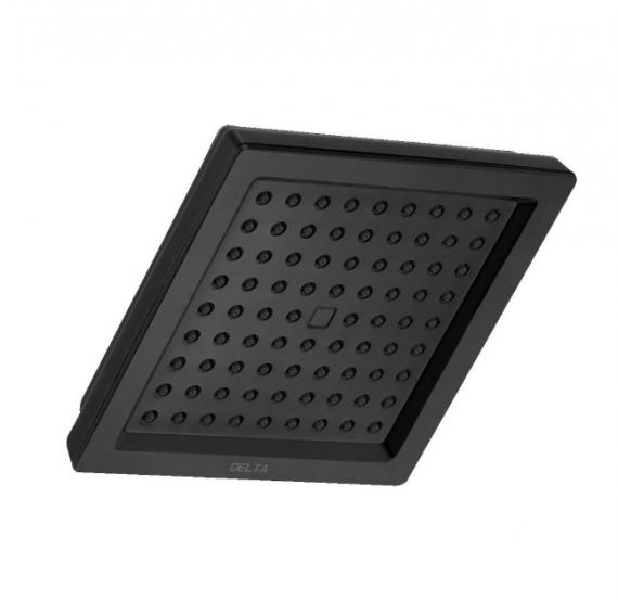delta-dryden-rpbl-spray-in-single-wall-mount-fixed-rain-shower-head-in-matte-black