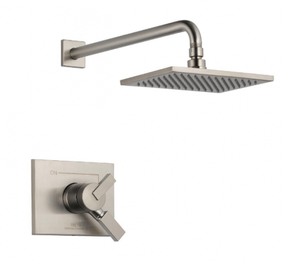 delta-vero-t-ss-we-handle-shower-faucet-trim-kit-in-stainless-valve-not-included