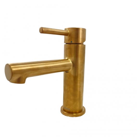Moen Align 6190BG Single-Hole, One-Handle Bathroom Faucet w/ Brushed Gold Finish