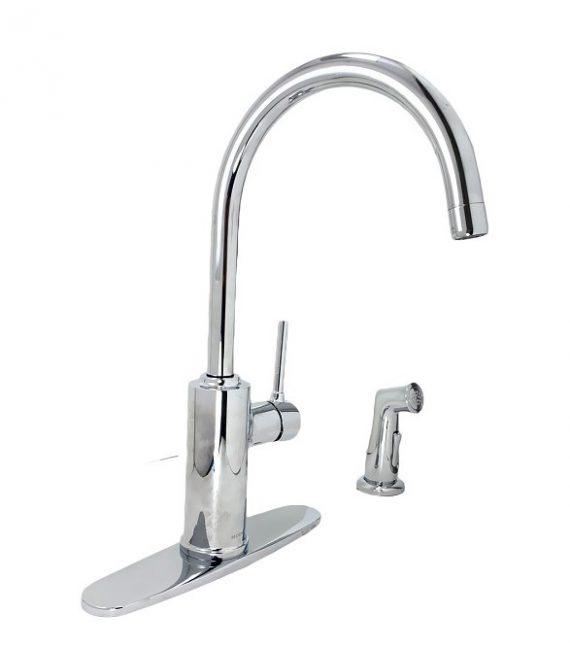 Moen-87702-Sombra High-Arc Kitchen Faucet