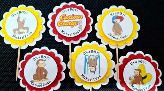 curious-george-party-birthday-baby-shower-supplies-personalized-cupcake-topper