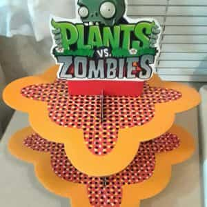 plants-vs-zombies-party-cupcake-stand-birthday-party-or-baby-shower