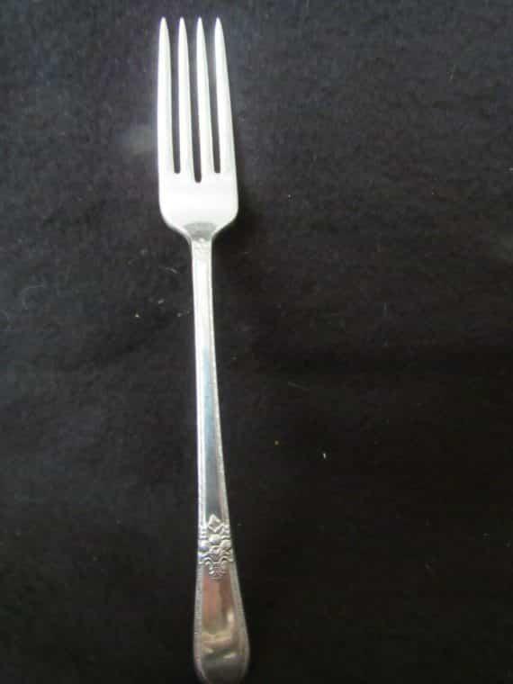 1 Dinner Fork, Adoration Silverplate 1939  (2561)