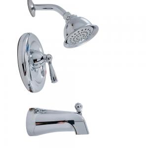 Moen Banbury 82910 Single Handle Shower Faucet Kit w/ Single Sprayer