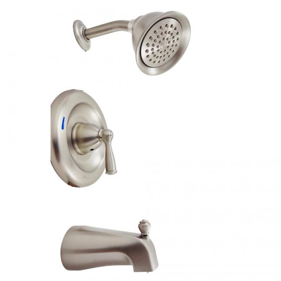 Moen Banbury-82910SRN-1-Handle Tub & Shower Faucet