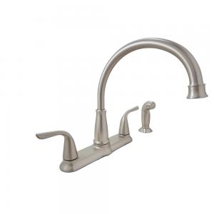 Moen-87102SRS-Brecklyn 2-Handle Standard Kitchen Faucet
