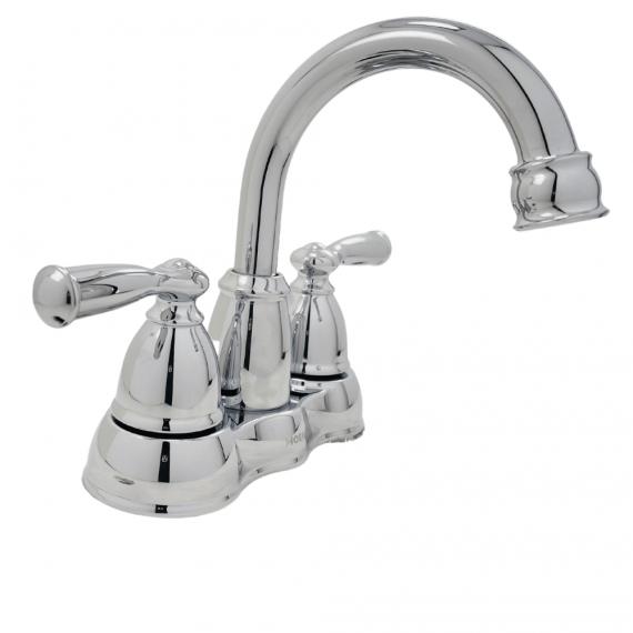 Moen Banbury-WS84913-2-Handle High-Arc Bathroom Faucet