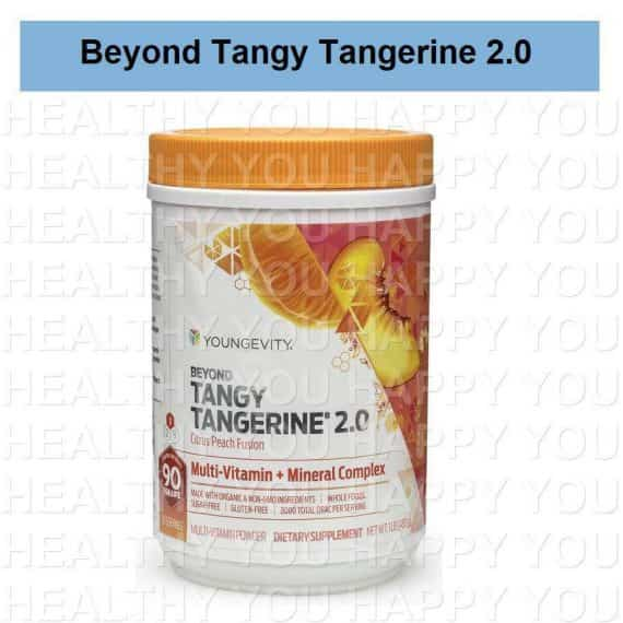 Beyond Tangy Tangerine 2.0 Citrus Peach Fusion Youngevity BTT