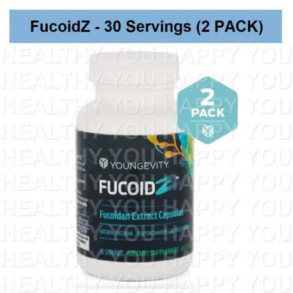 FucoidZ - ZRadical Fucoidan Extract - 60 Capsules (2 PACK) Youngevity