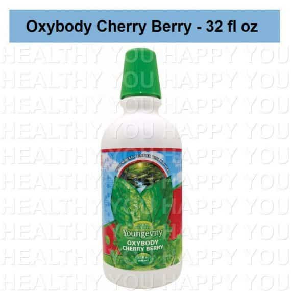 Oxybody Cherry Berry – 32 fl oz Youngevity