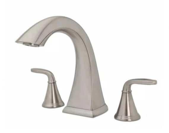 pfister-pasadena-pdkk-handle-high-arc-deck-mount-roman-tub-faucet-in-brushed-nickel