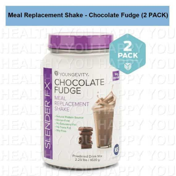 Slender Fx Meal Replacement Shake - Chocolate Fudge (4 PACK) Youngevity