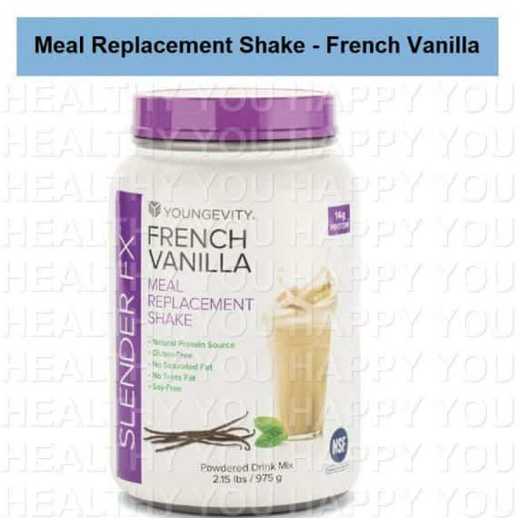 Slender Fx Meal Replacement Shake - French Vanilla Youngevity