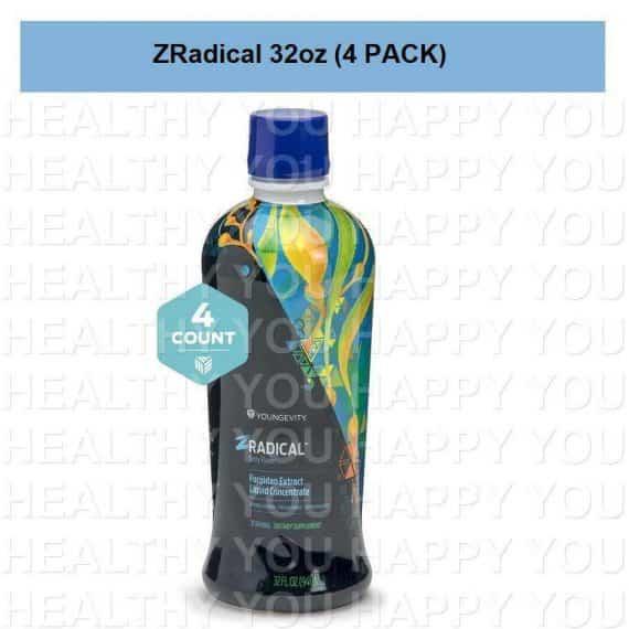 ZRadical 32 fl oz (4 PACK) Youngevity