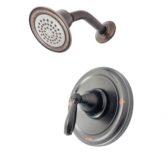 Moen Brantford - T2152EPORB - Single-Handle Posi-Temp Shower Only Trim Kit in Oil Rubbed Bronze (Valve Not Included)
