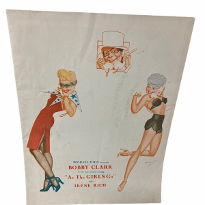 as-the-girls-go-broadway-musical-souvenir-program-bobby-clark-irene-rich