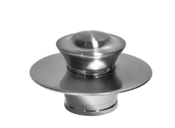 DANCO 10534 EZ Drain Bathtub Drain Stopper in Brushed Nickel
