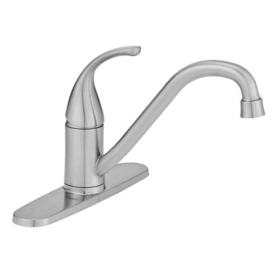 glacier-bay-builders-single-handle-standard-kitchen-faucet-in-stainless-steel