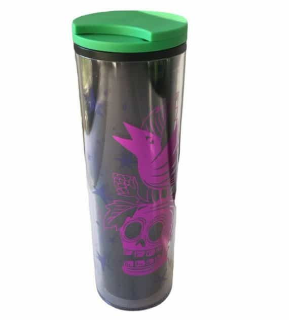 starbucks-halloween-skull-crow-acrylic-tumbler-oz-black-purple-green-lid