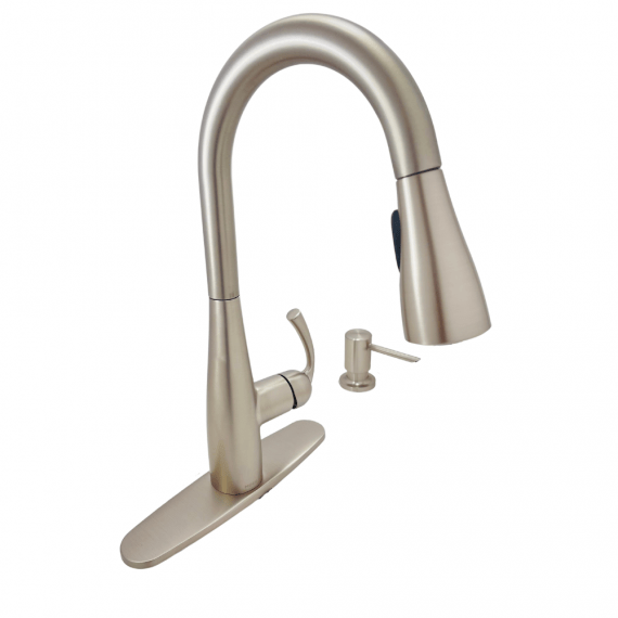 Moen Essie 87014SRS 1-Handle High Arc Pulldown Kitchen Faucet in Stainless