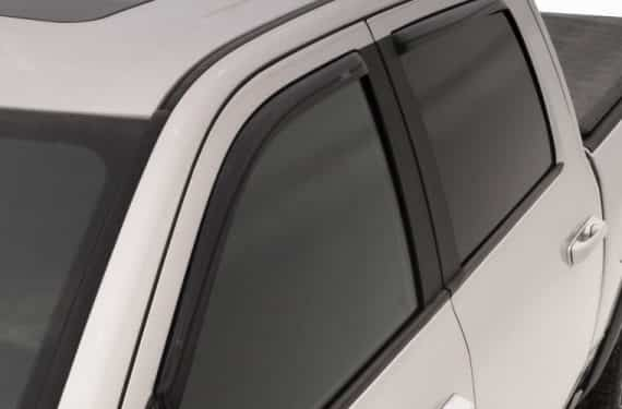 2001-2004 Tacoma Crew Cab 4Pc In-Channel Vent Visors-Smoke