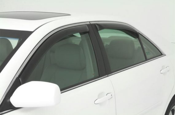 2007-2011 Camry 4Pc In-Channel Vent Visor-Smoke
