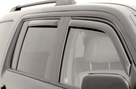 2002-2007 Liberty 4Pc In-Channel Vent Visor-Smoke
