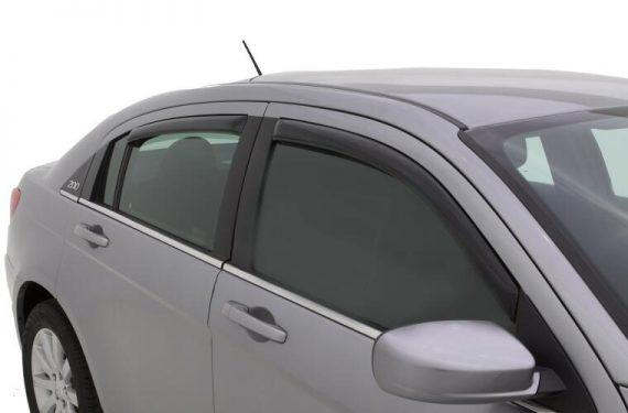 2007-2010 Sebring/11-14 Chrysler 200 4Pc In-Channel Vent Visor-Smoke