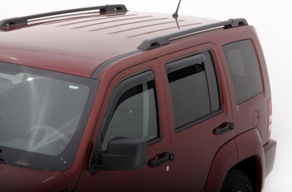 2008-2012 LIBERTY 4PC IN-CHANNEL VENT VISOR-SMOKE