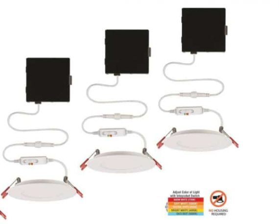 commercial-electric-ultra-slim-in-color-selectable-new-construction-and-remodel-canless-recessed-integrated-led-kit-pack
