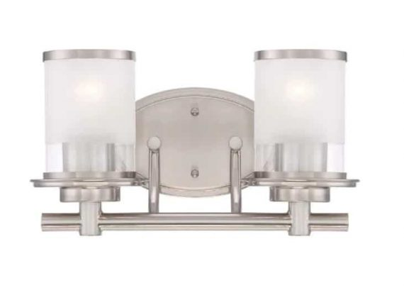 hampton-bay-truitt-light-brushed-nickel-vanity-light-with-clear-and-sand-glass-shades