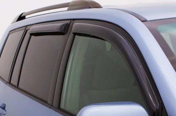 2021-C Bronco Sport Vent Visor Outside Mount 4Pc Smoke