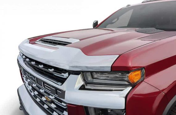 2020-C Silverado 2500/3500 Aeroskin Chrome Hood Protector