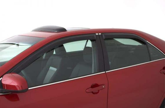 2006-2011 Civic Sedan 4Pc Original Vent Visor-Smoke