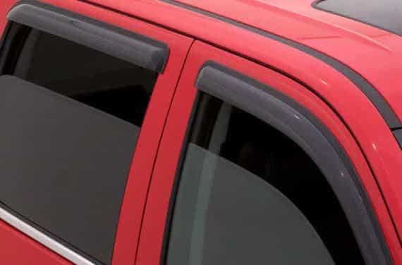 2005-2010 Dakota Quad Cab 4Pc Original Vent Visor-Smoke