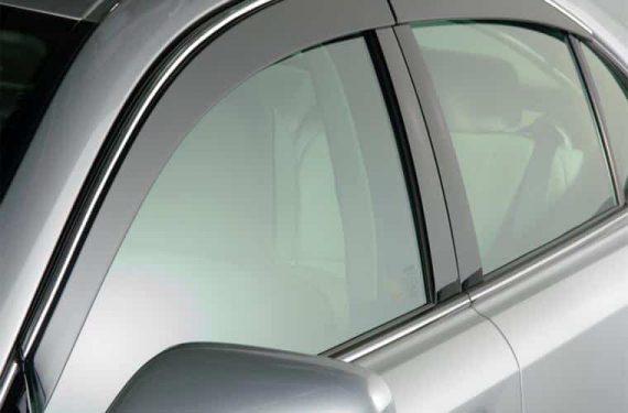2007-2011 Lexus Es350 4 Piece Low Profile Vent Visor-Smoke