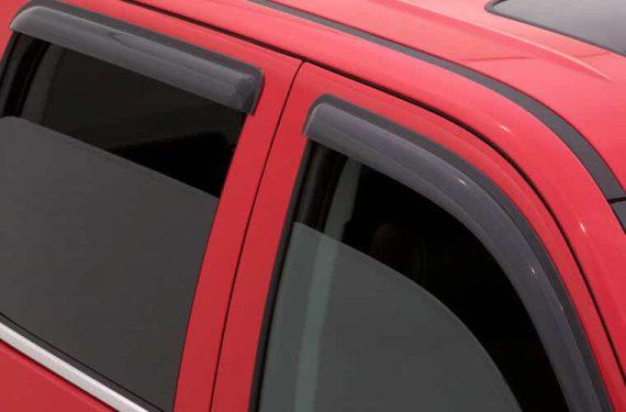 2002-2007 Rendezvous 4Pc Original Vent Visor-Smoke