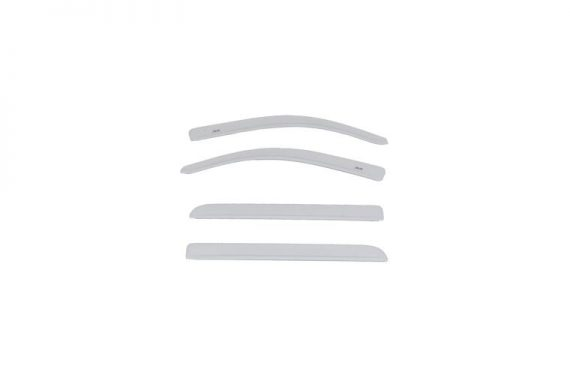 2016-2017 SIERRA 1500 CREW CAB COLOR MATCH LOW PROFILE VENT VISOR WHITE FROST TRICOA DEFLECTOR