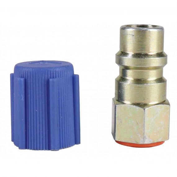 """1/4"""" to R134A Adapter, Low Side, Straight - Air Conditioner"""