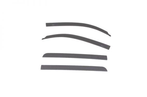 2015-2017 Tundra Crewmax Color Match Low Profile Vent Visor Magnetic Grey Metallic Deflector