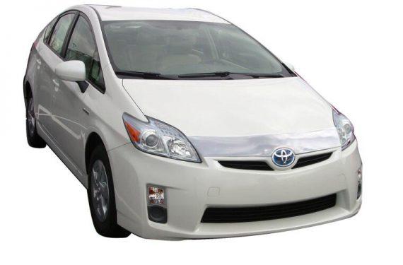 2010-2012 Prius Aeroskin Hoodprotector-Chrome