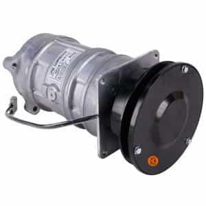 John Deere Combine Denso Style/Delco A6 Compressor, w/ 1 Groove Clutch - Air Conditioner