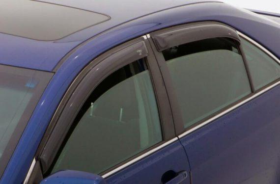 2007-2011 Camry 4Pc Original Vent Visor-Smoke
