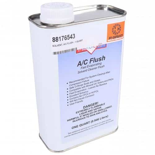 A/C Flush Solvent, R12 or R134A-Air Conditioner