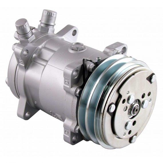 Ag-Chem Sprayer Sanden SD508 Compressor, w/ 2 Groove Clutch - Air Conditioner