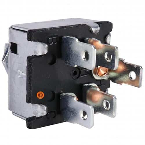AGCO Tractor Blower Switch, w/ Resistors-Air Conditioner