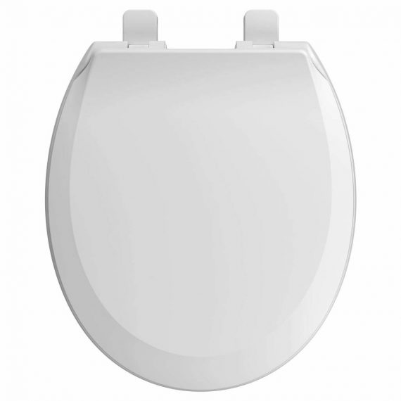 American Standard Cadet Suite 5503B.65BH.020 Round Front Slow-Close Toilet Seat with EverClean