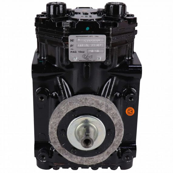 Case Backhoe Genuine York ER210L Compressor - Air Conditioner