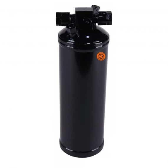 Case IH Sprayer Receiver Drier, w/ Female/Male Switch Port - Air Conditioner